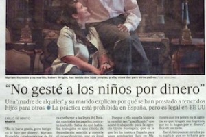 EL PAÍS article featuring Integrow client